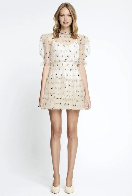 ALICE MCCALL Cowboy Tears Mini Dress - Creme