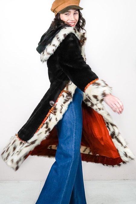 The Canyon Vintage Vintage Folk Fur Maxi Coat