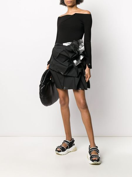 ISSEY MIYAKE Skirt - black/silver