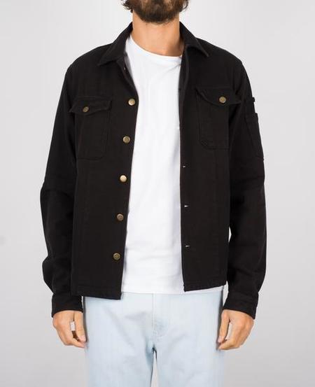 Portuguese Flannel The Champ Denim Shirt - Black