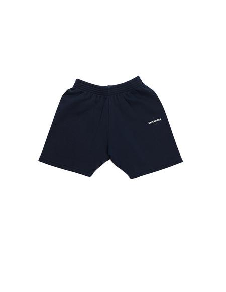 Kids Balenciaga Shorts - Navy Blue