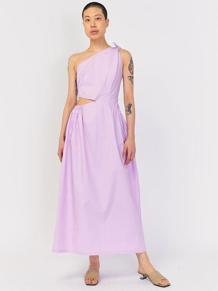 J. Kim Asymmetrical Dress - Mauve