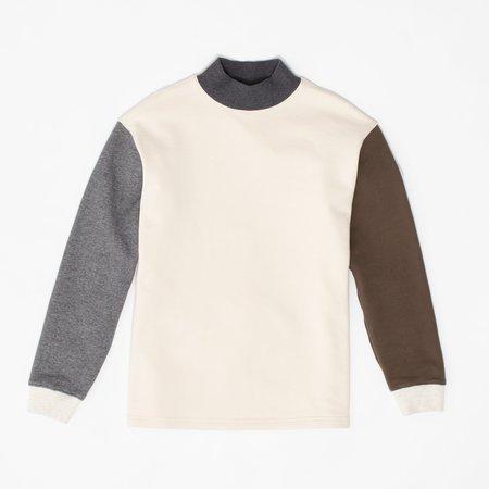 archie Mock Neck Sweatshirt - Combo
