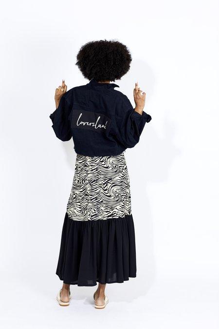 Just Female Olympia Maxi Skirt - Zebra