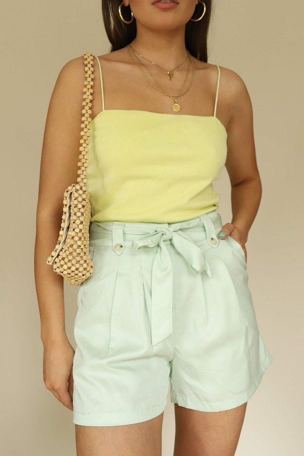 Frnch Shorts - Pistachio Green