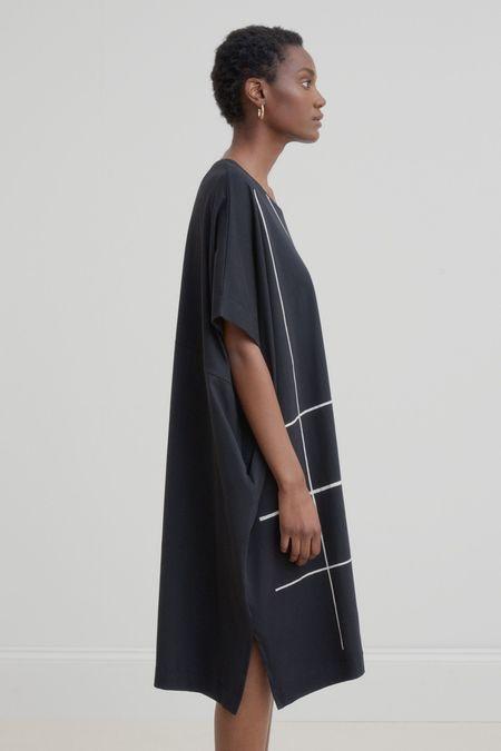 Kowtow Geometry Dress - Black/White