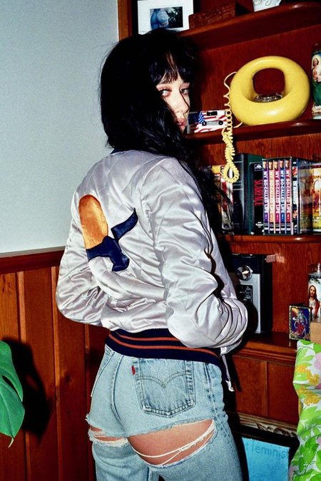 Classic Rock Couture Silver Wings Jacket - Silver