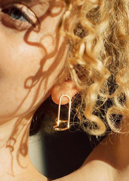 Chalk Jewellery Triple Arc Earrings