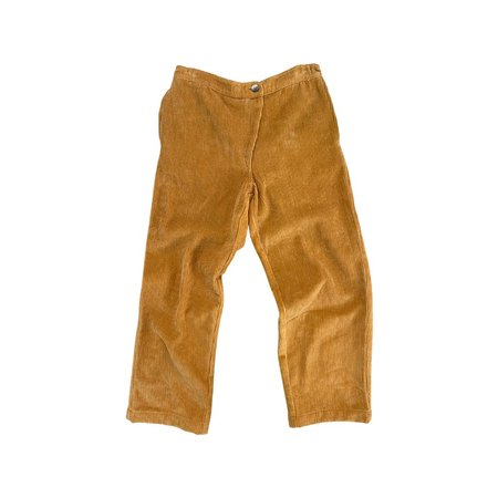 Kids Feather Drum AINSLEY PANT - INCA GOLD