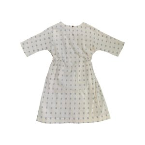 Kids Feather Drum SLOANE DRESS - EMBROIDERED