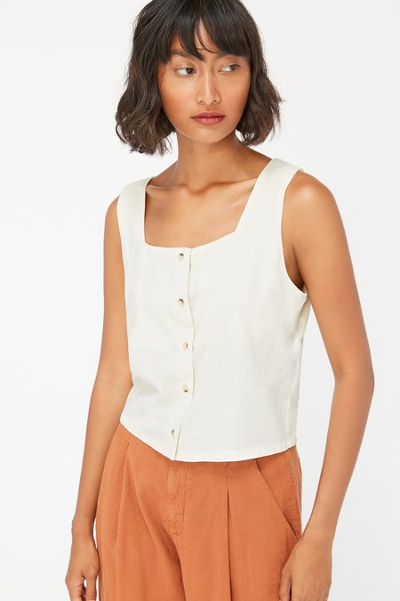 Lacausa Linnie Top - Natural Silk