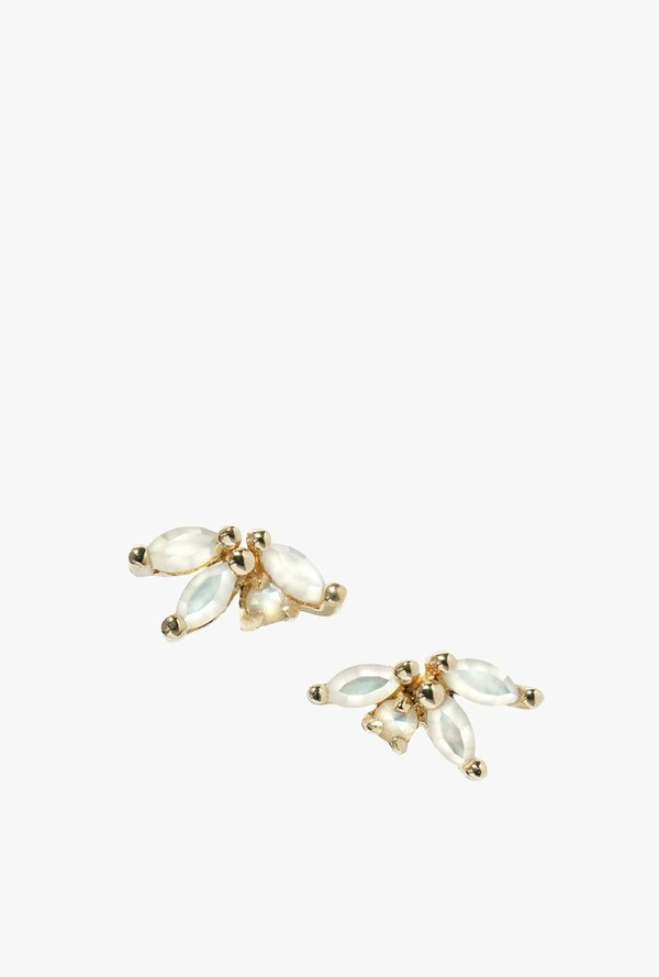 Laurie Fleming Anais Earrings - 14k Yellow Gold