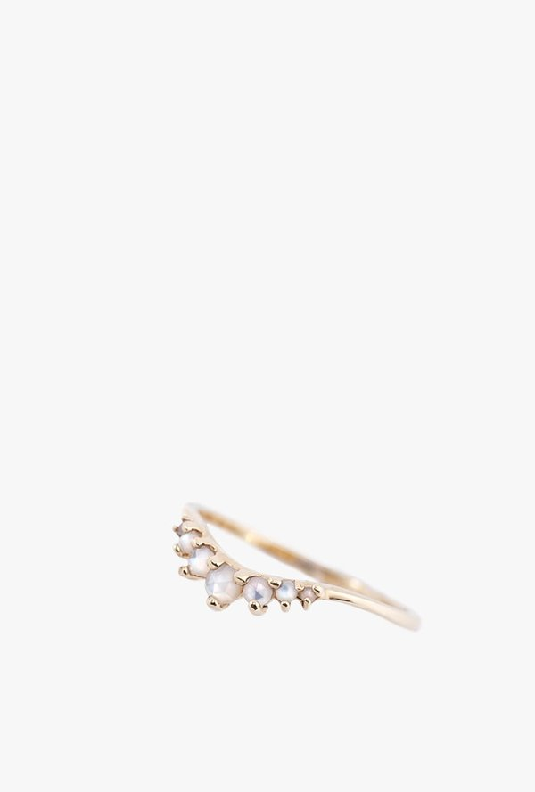 Laurie Fleming Beacen Ring - 14k Yellow Gold