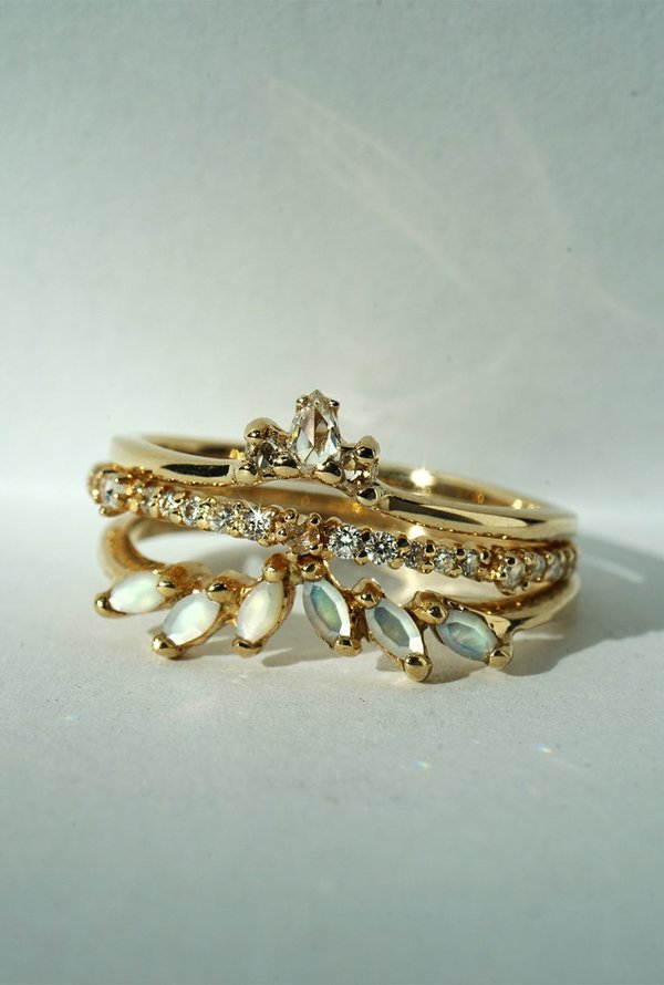 Laurie Fleming Jasmine Ring - 14k Yellow Gold