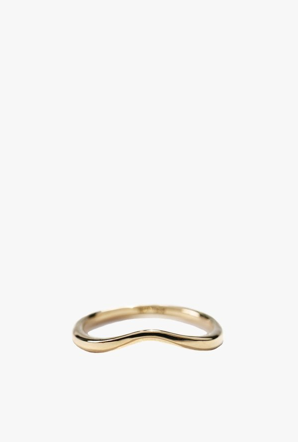 Laurie Fleming Undine Band - 14K Gold
