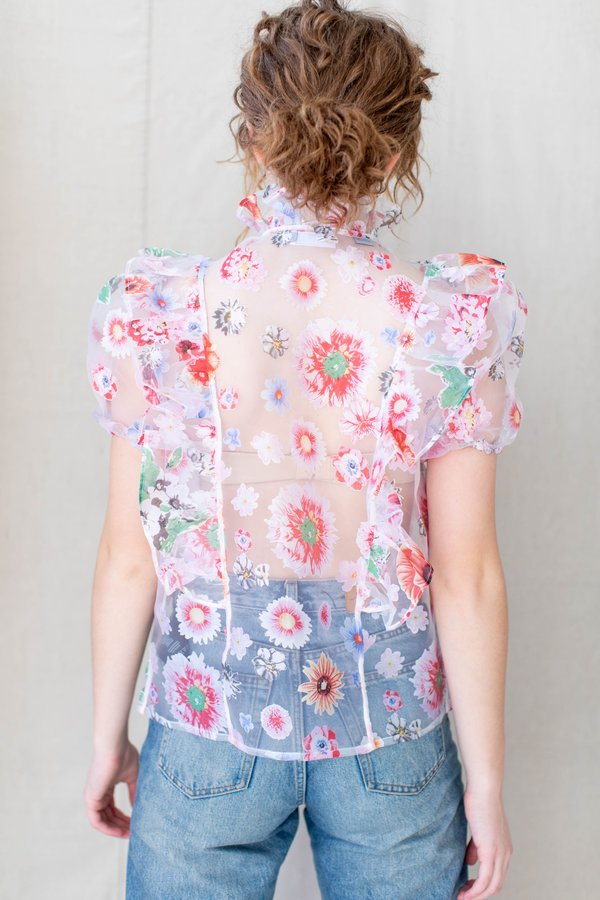 Barber Sophie Top - Floral