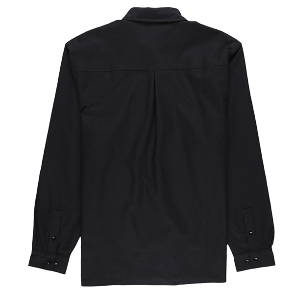 PLEASURES Reality Embroidered Button Down - Black