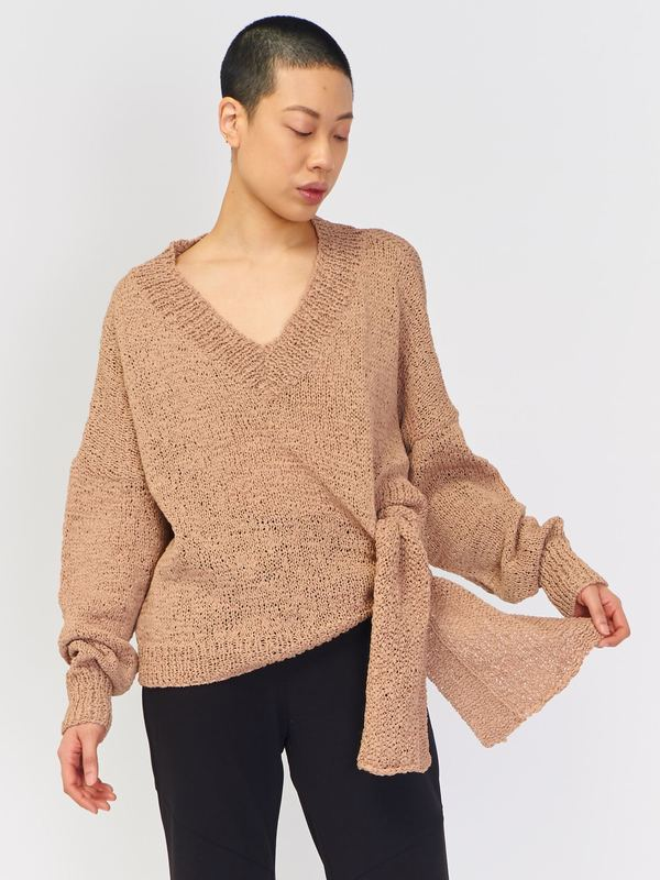 Rodebjer Anisah Sweater - Faded Terracotta