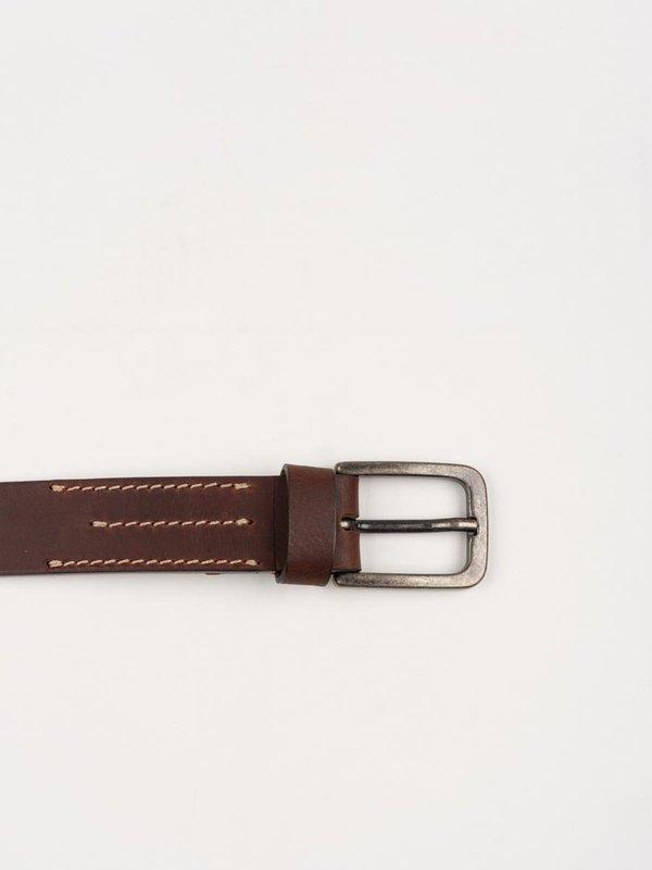 Universal Works Everyday Belt Leather - Dark Brown