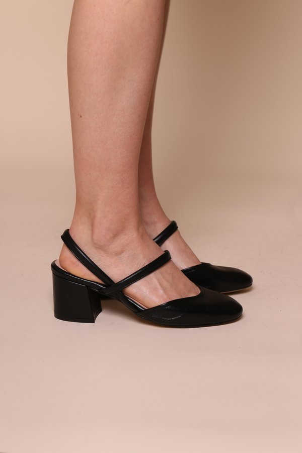 """""""INTENTIONALLY __________."""" Freckle Heel"""