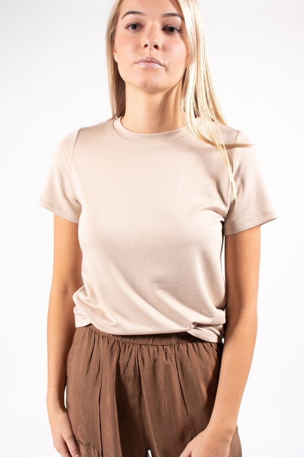 Corinne Collection Corinne - Everyday Tee -Nude