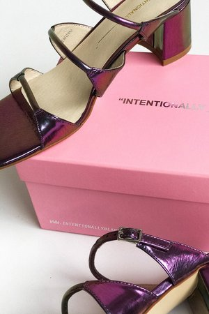 """INTENTIONALLY __________."" Grace Sandal"