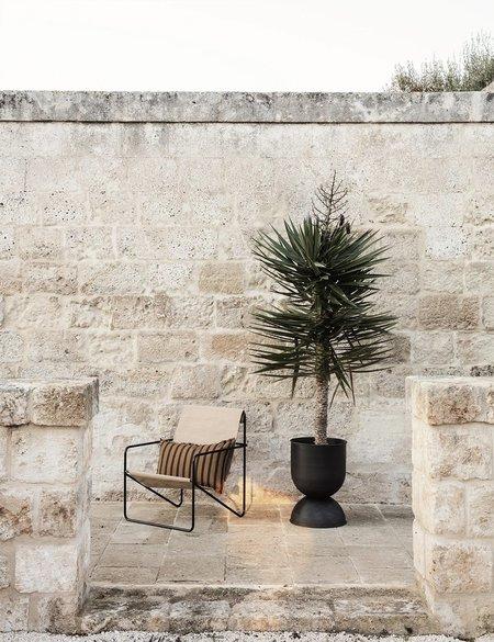 Ferm Living Hourglass Extra Small Plant Pot - Black