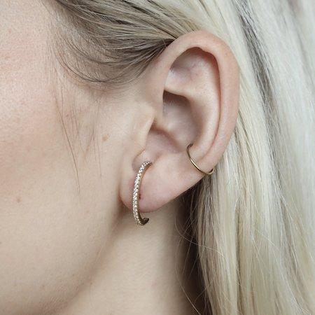 Thatch Pavé Thomas Ear Cuff - 14K Gold