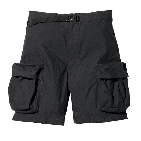 Snow Peak Indigo C/N Shorts - Black