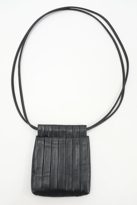 Beklina Pleated Bag - Black