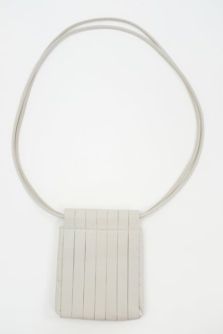 Beklina Pleated Bag - Soft Grey
