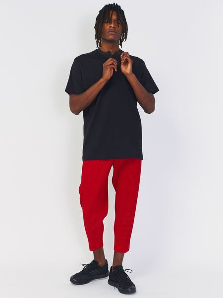 Issey Miyake Tapered Pant - Red