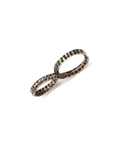 UNEARTHEN SILVER INFINITY RING