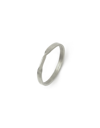 VIBE HARSLOF SILVER TWIST RING