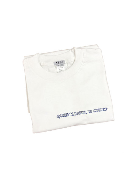 House of 950 embroidery tee shirt questioner chief