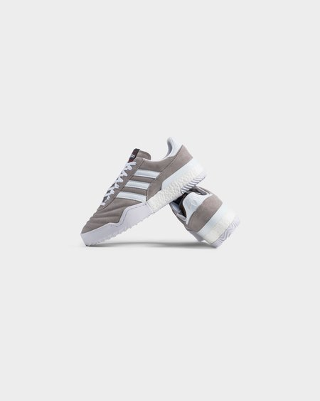 Adidas Statement Alexander Wang Bball Soccer - Clear Granite / Core White