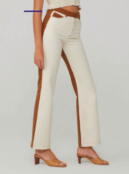 Paloma Wool Tan Dax Pants