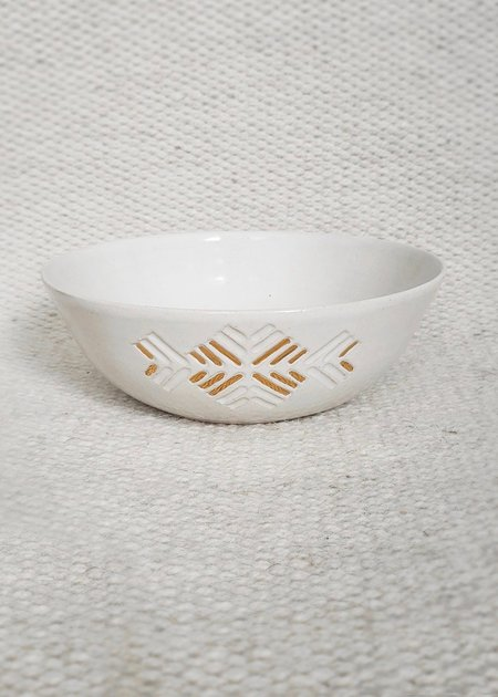 AMA Collection Morning star bowl - Glazed clay