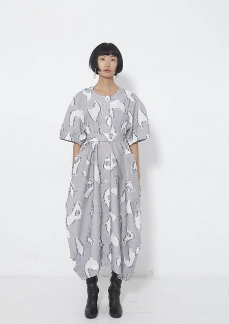 Henrik Vibskov NO.1 Dress - White Fringes
