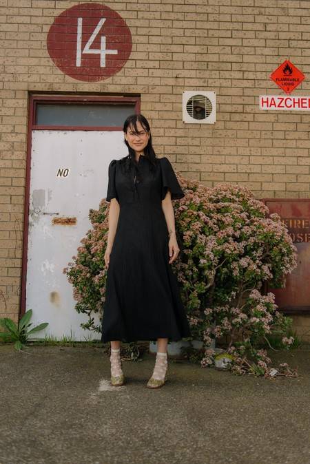 permanent vacation Dorian Dress - Black