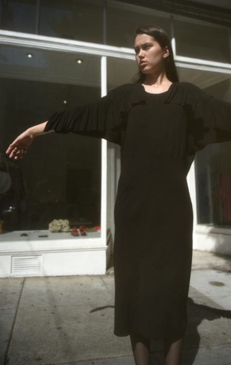 A Détacher Basia Dress - Onyx
