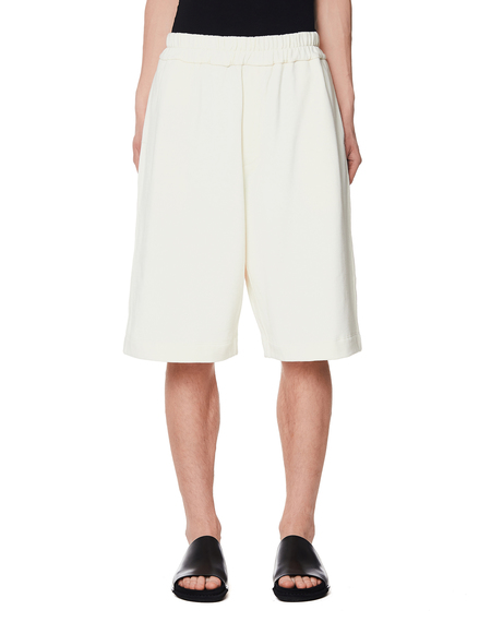 Jil Sander Cotton Shorts - Off-white