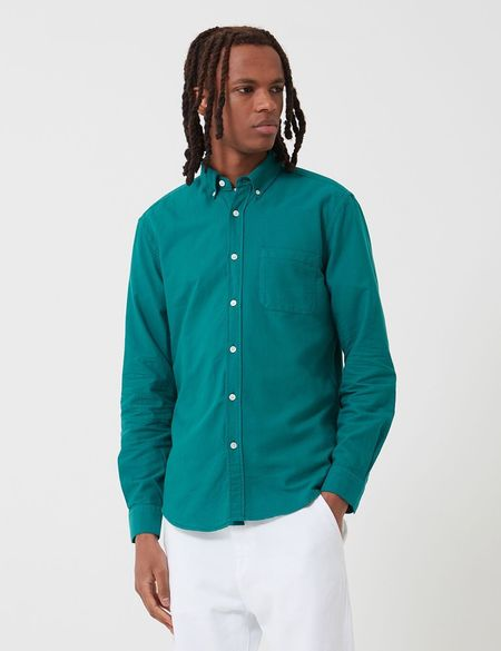 Portuguese Flannel Belavista Shirt - Billard Green