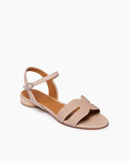 Coclico Crown Sandal - Bone