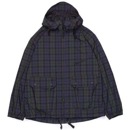 Engineered Garments Atlantic Parka - Blackwatch Nyco Cloth