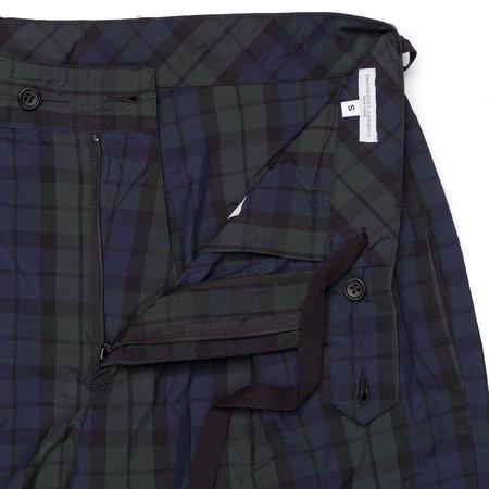 Engineered Garments Sunset Short - Blackwatch Nyco Cloth