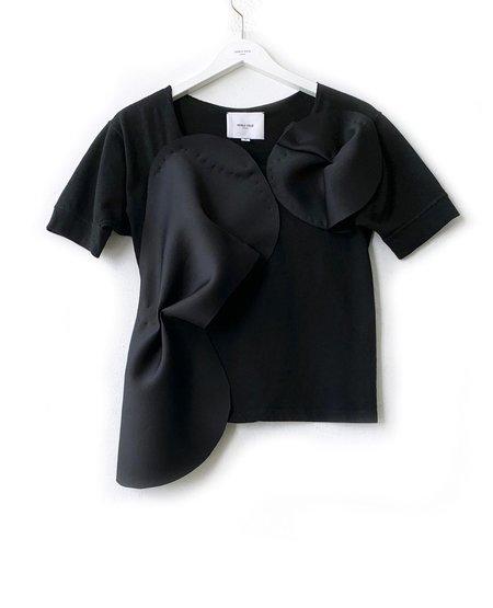 AKIKO TSUJI Sculpture Top - Black