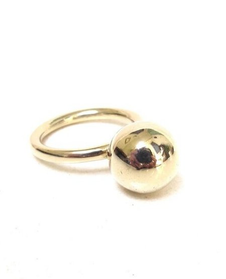 JACQUELINE ROSE Globe Ring - Bronze