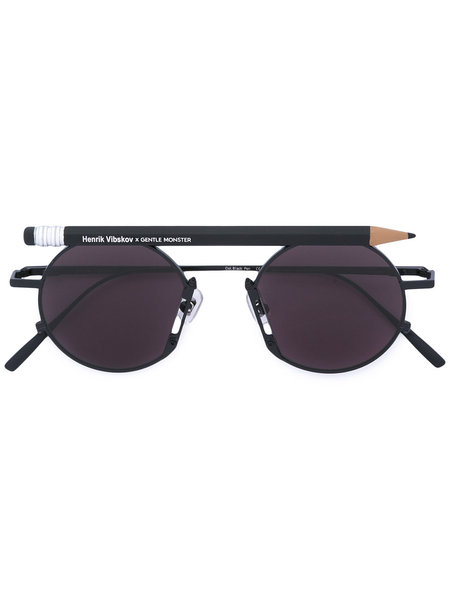 HENRIK VIBSKOV PENCIL GLASSES - Black