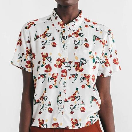 Bridge & Burn Greer Short Sleeve Shirt - Tulip